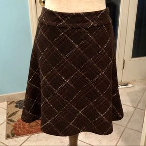 Old Navy Plaid Lined Skirt